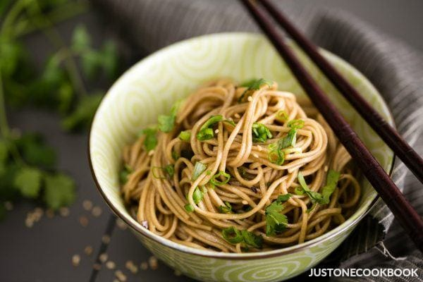 Soba Noodle Salad | Easy Japanese Recipes at JustOneCookbook.com