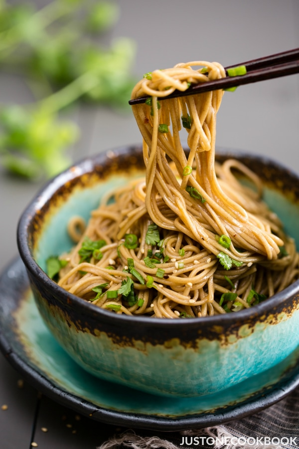 Soba Noodle Salad ȕ�麦サラダ Just One Cookbook