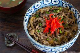 Yoshinoya Beef Bowl (Gyudon 牛丼) | Easy Japanese Recipes at JustOneCookbook.com