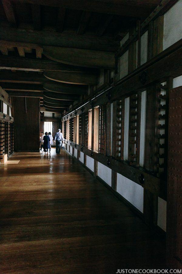hallway in himeji castle