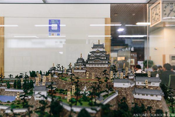 model of himeji castle