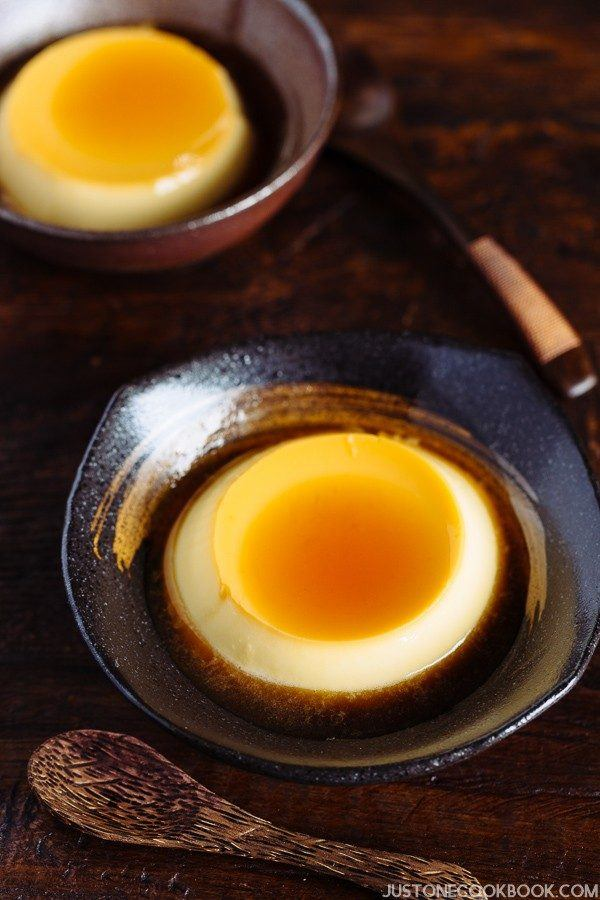 Japanese Pudding (Purin プリン) | Easy Japanese Recipes at JustOneCookbook.comプリン) | Easy Japanese Recipes at JustOneCookbook.com