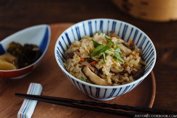 Takikomi Gohan (Japanese Mixed Rice) | Easy Japanese Recipes at JustOneCookbook.com