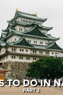 Nagoya Travel Guide - Part 2 (Nagoya Castle, Science Museum, and Noritake Garden) | JustOneCookbook.com