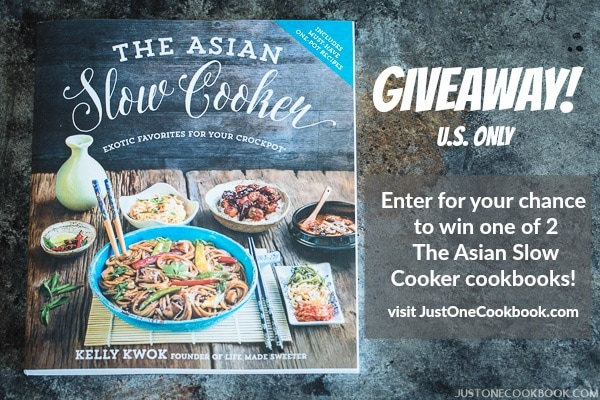 Asian Slow Cooker Cookbook | Easy Japanese Recipes at JustOneCookbook.com