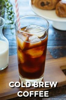 Cold Brew Coffee | Easy Japanese Recipes at JustOneCookbook.com