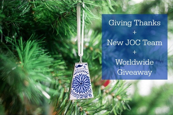Giving Thanks + New JOC Team + Giveaway | JustOneCookbook.com