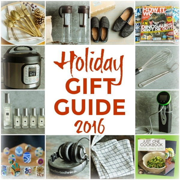 Holiday Gift Guide 2016 Easy Anese Recipes At Justonecookbook