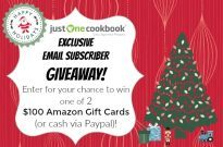 Holiday 2016 Email Subscriber Giveaway (Worldwide) (Closed)