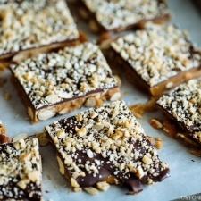 Chocolate Almond Toffee   Easy Japanese Recipes at JustOneCookbook.com