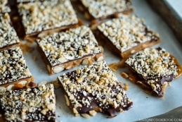 Chocolate Almond Toffee | Easy Japanese Recipes at JustOneCookbook.com