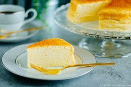 Japanese Cheesecake (スフレチーズケーキ) | Easy Japanese Recipes at JustOneCookbook.com