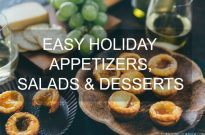 10 Easy Holiday Appetizers, Salads, & Desserts