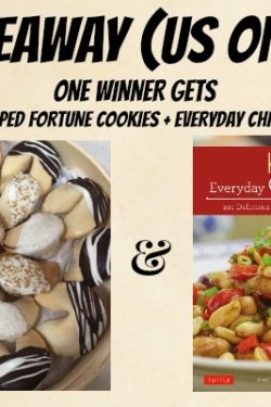 Fortune Cookies Giveaway