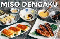 Miso Dengaku (Tofu, Eggplant, Daikon & Konnyaku) 味噌田楽