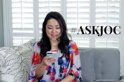 #ASKJOC | Easy Japanese Recipes at JustOneCookbook.com