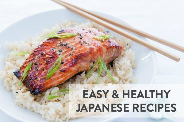 12 easy healthy japanese recipes just one cookbook salmon on top of the rice in a white bowl forumfinder