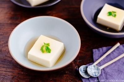 Tamago Tofu (Egg Tofu) 玉子豆腐   Easy Japanese Recipes at JustOneCookbook.com