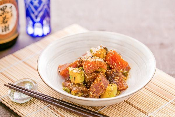 Tuna Poke | Easy Japanese Recipes at JustOneCookbook.com