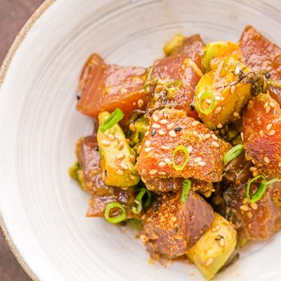 Tuna Poke | Easy Japanese Recipes at JustOneCookbook.com