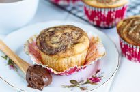 Caramelized Banana Muffins バナナマフィン