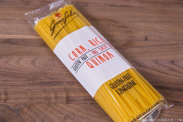 Gluten Free Pasta in a package.