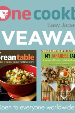 Korean & Japanese Cookbooks Giveaway