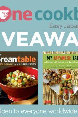 Korean & Japanese Cookbooks Giveaway