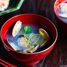 Japanese Clam Soup with Clear Broth あさりの潮汁 | Easy Japanese Recipes at JustOneCookbook.com