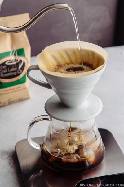 Japanese Iced Coffee アイスコーヒー | Easy Japanese Recipes at JustOneCookbook.com