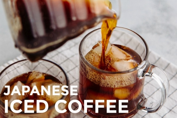 Japanese Iced Coffee アイスコーヒー | Easy Japanese Recipes at JustOneCookbook.com