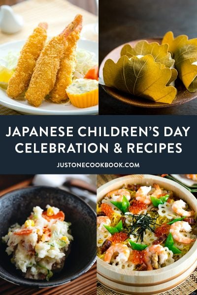 Japanese Children's Day and Recipes to Make for the celebration