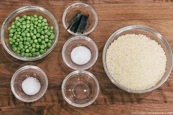 Mame Gohan Ingredients