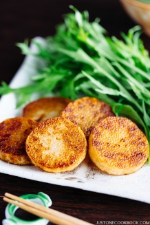 Sautéed Yam (長芋のソテー) from Midnight Diner   Easy Japanese Recipes at JustOneCookbook.com