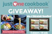 Orchids Shirataki Noodles Giveaway (US only) (Closed)