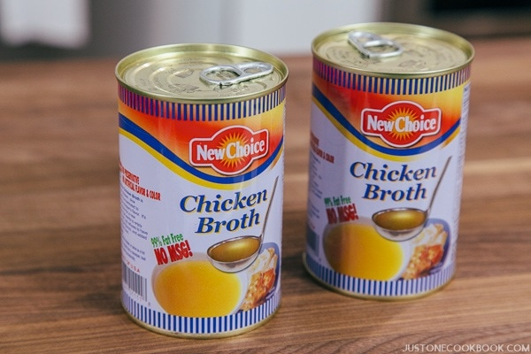 Chicken Broth Can