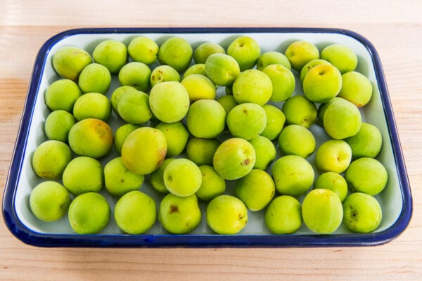 Green Ume Plums
