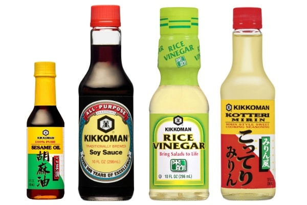 Kikkoman Condiment Set w600