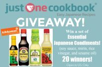 Kikkoman Essential Japanese Condiments Giveaway (US only) (Closed)