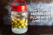 Plum Wine (Umeshu) 梅酒 – 'Midnight Diner: Tokyo Stories'