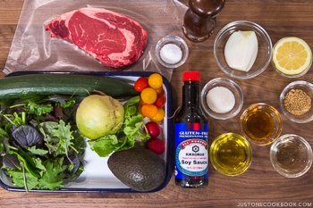 steak salad ingredients