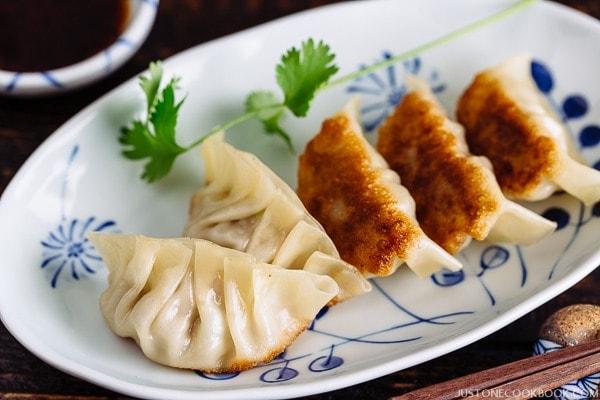 Gyoza 餃子   Easy Japanese Recipes at JustOneCookbook.com