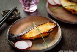 Miso Cod (Black Cod with Miso) 銀ダラ西京焼き | Easy Japanese Recipes at JustOneCookbook.com