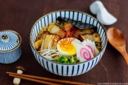 Spicy Shoyu Ramen スパイシー醤油ラーメン   Easy Japanese Recipes at JustOneCookbook.com