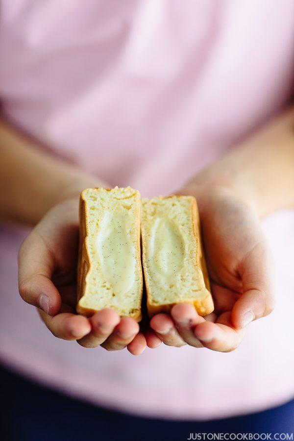 Imagawayaki with Custard Cream | Easy Japanese Recipes at JustOneCookbook.com