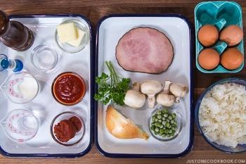 Omurice Midnight Diner Ingredients