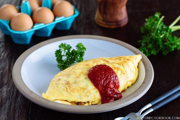 "Omurice オムライス (Omelette Rice - ""Midnight Diner: Tokyo Stories"" 