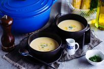 Corn Potage コーンポタージュ (Japanese Corn Soup コーンスープ)