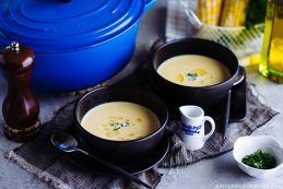 Corn Potage (Japanese Corn Soup) コーンポタージュ (コーンスープ) | Easy Japanese Recipes at JustOneCookbook.com