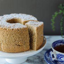 Earl Grey Chiffon Cake アールグレイシフォンケーキ | Easy Japanese Recipes at JustOneCookbook.com